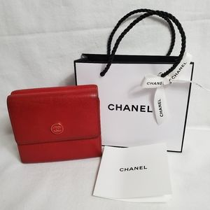 Authentic Preowned CHANEL Trifold Wallet